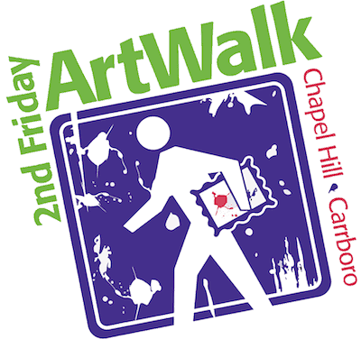 2nd friday art walk chapel hill carrboro north carolina triangle