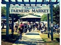 Melon Tasting Day at Carrboro Farmers' Market