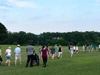 Free walking tours and workouts at Dorothea Dix Park