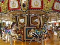 Free carousel rides at Northgate Mall in Durham