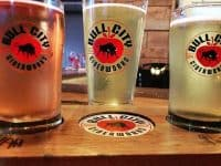 Bull City Votes Happy Hour with free pizza and a free drink at Bull City Ciderworks