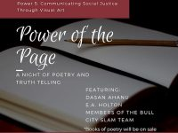 Power of the Page: A night of poetry and truth-telling at Pleiades Arts