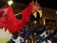 Halloween Spooktacular with Paperhand Puppet Intervention at Northgate Mall