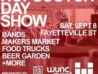 Hopscotch Day Party Series, including WUNC Music Stage, Hopscotch Makers Market, more