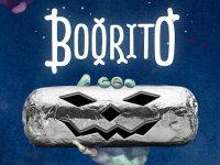 $4 Boorito at Chipotle on Halloween