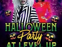 Halloween Costume Party at Level Up Arcade & Bar