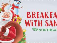 Breakfast and sing-along with Santa at Northgate Mall