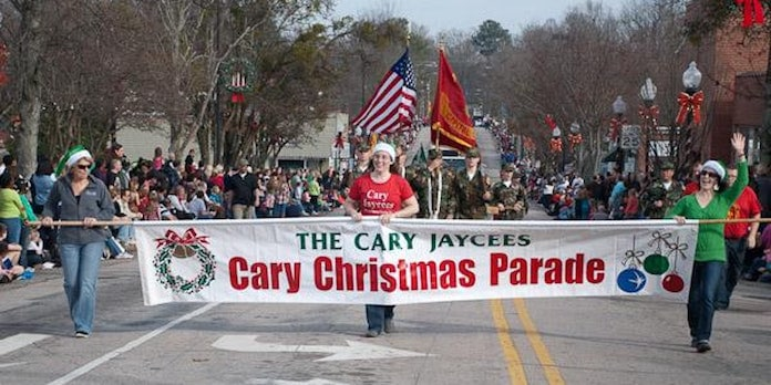 Wake Forest Christmas Parade 2019 Town of Cary 2018 Christmas Parade   Triangle on the Cheap