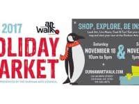 Durham Art Walk Holiday Market