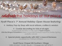 Hyatt Place's 1st Annual Holiday Open House