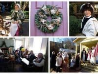 Joel Lane Museum House: Colonial Christmas Open House 12/2