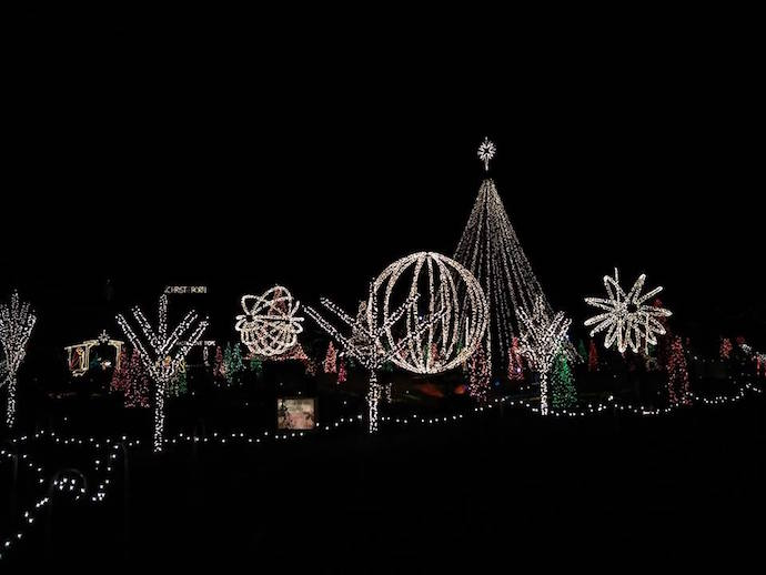 unc tv featured a segment on lake myra christmas lights in 2015