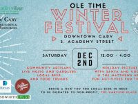Downtown Cary Ole Time Winter Festival