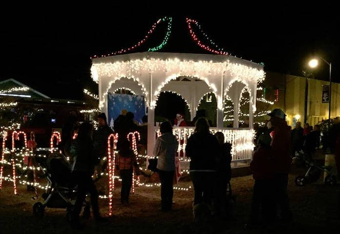 Celebrate the beginning of the holiday season at Wendell Wonderland on  Friday, December 7th, 2018, from 5 p.m. to 10 p.m. in downtown Wendell. - 2018 Wendell Wonderland - Triangle On The Cheap