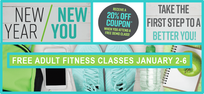 the town of cary is helping you kickstart your new years resolutions with free fitness classes from january 2nd to 6th also scroll to the bottom for