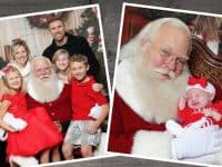 Free professional pictures with Santa at Raleigh realtor's office