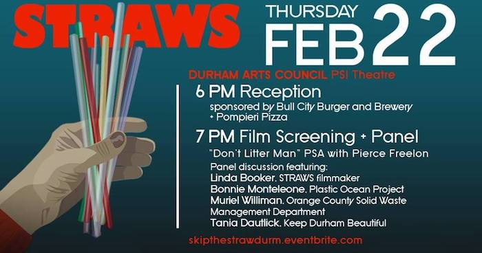 Free Screening Of Straws And Reception In Durham Triangle On The