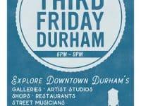 Third Friday Durham: explore art and music