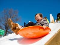 Buy tickets now for Snow Day Sledding at Waverly Place