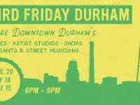 Third Friday Durham: explore art and music