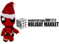 GeekCraft Expo RDU 2018 Holiday Market–shop for hand-made geeky products of all kinds