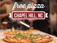 Sign up for a free pizza at The Pizza Press (Chapel Hill) grand opening
