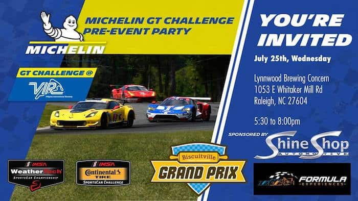 Michelin Gt Challenge Pre Event Party At Lynnwood Brewing
