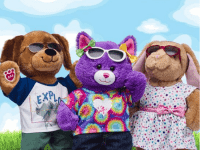 Pay your age (or your child's age) for any furry friend at Build-a-Bear July 12