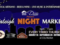 Raleigh Night Market is a new monthly market starting August 16