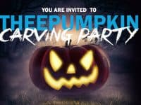 TheeDesign's 7th Annual Pumpkin Carving Party: free pumpkins and more (reserve your spot)