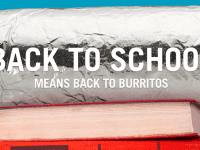 All students get BOGO at Chipotle