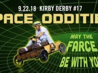 Register now for the 17th Annual Kirby Derby–Space Oddities: May the Farce Be With You