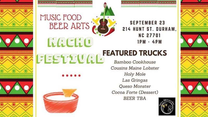 Nacho Festival At Durham Central Park Triangle On The Cheap