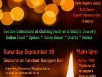 Localista's Dussehra Diwali Fest in Durham