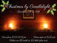 Tickets selling fast for Christmas by Candlelight at Duke Homestead
