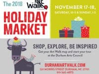 Durham Art Walk Holiday Market