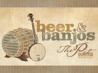 Durham Beer and Banjos at The Pit: Honey Magpie