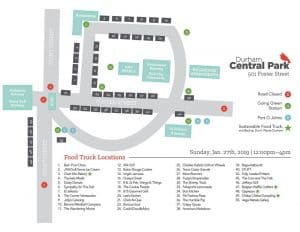 Winter Food Truck Rodeo In Durham Central Park Triangle