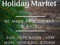 Durham Village Holiday Market at The Rickhouse