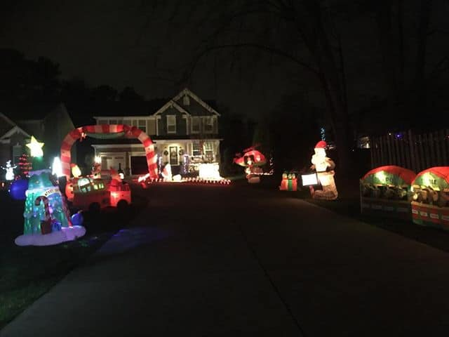 Christmas at the Youakim's 7319 Litchford Road Raleigh Every night through  January 15th, 2019 7 p.m. to 9 p.m. - Best Christmas Light Displays In The Triangle 2018 - Triangle On The